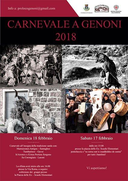 Carnevale a Genoni 2018